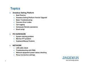 Technical Reference Guide for Agents - amadeus.lk