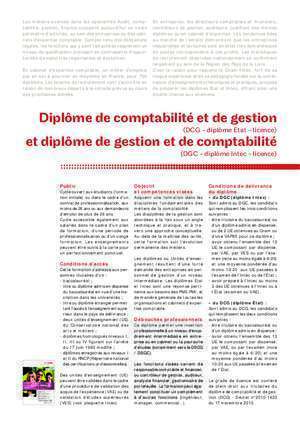 Dcg fiches : A3_16 Licence DCG indd Cnam