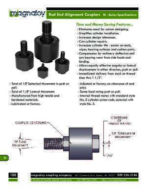 Rod End Couplers - Magnaloy