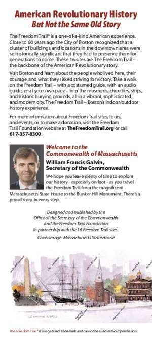Official Brochure - Freedom Trail
