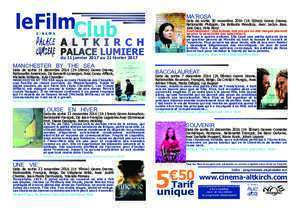 Roco 2017 : Tract film 2017 01 02 indd