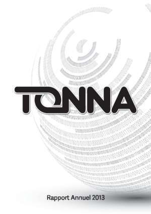EXE_Rapport TONNA 2013 Def My.indd - Zone bourse