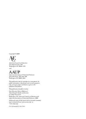 Does Diversity - AAUP
