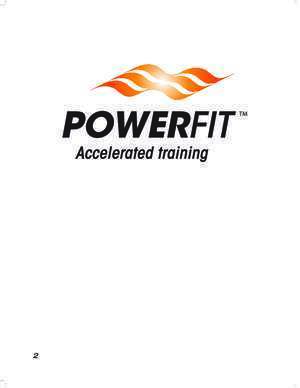 16p 47 : POWERFIT D E380 Manual 16p ENGLISH GLOBAL GROUP