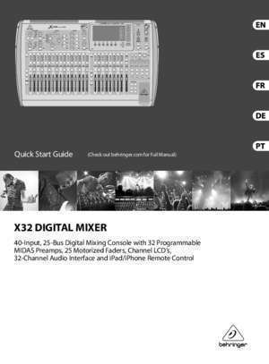 Behringer x32 : X32 MUSIC Group