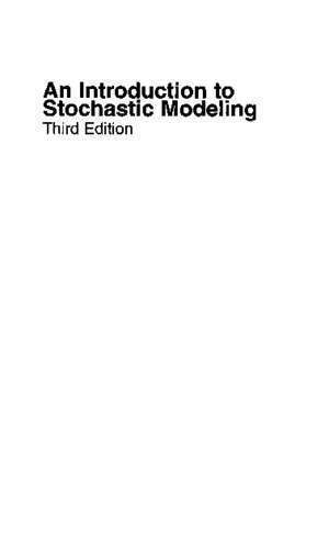 An introduction to probability theory and its application : An Introduction To Stochastic Modeling UPM