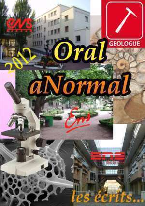 G2e 2003 chimie corrig : Ecrits 2012 Oral aNormal Free