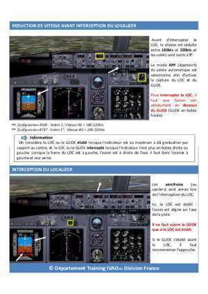 Guide airbus 320 : FICHE PILOTE APPROCHE ILS ivao fr