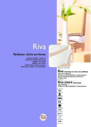 Appareil bain thermostat : Notice d installation Riva thermor lv