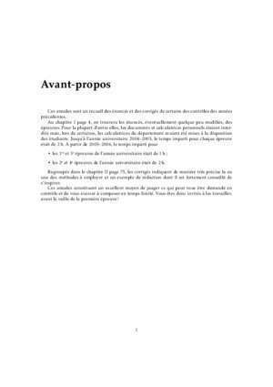 1 bac sm maths : Annales de mathematiques