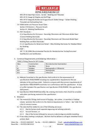 Astm 10 : ASTM A403 A403M-10 Standard Specification for Wrought