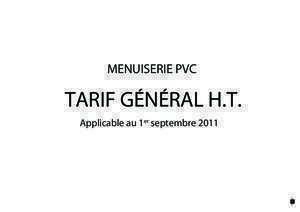 272 323 : TARIF GM Direct Menuiserie 17