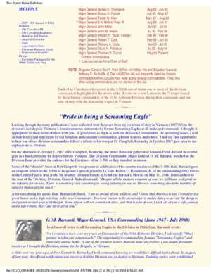 506th : TStand Alone Battalion Newsletter Currahee 3-506th