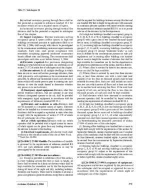 18 27 : SUBCHAPTER 18 ELEVATORS AND CONVEYORS ARTICLE 1