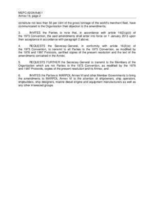 62 page 176 : RESOLUTION MEPC 203(62) Adopted on 15 July 2011