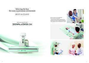 G4 : SONIALVISION G4 Medical Imaging Sales and Service