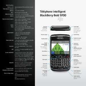 Bluetooth du blackberry bold 9700 : Osez avec Bold WirelessDealer ca