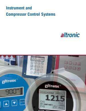 Altronic : Instrument and Compressor Control Systems