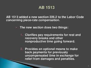 AB 1513 Power Point Presentation