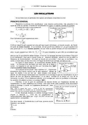 Additionneur et soustracteur : VE =G V VS avrj cours pagesperso-orange fr