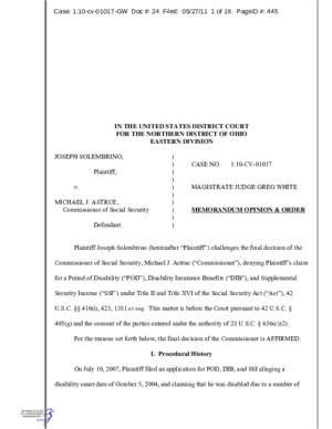 10 cv tr : IN THE UNITED STATES DISTRICT COURT FOR THE NORTHERN