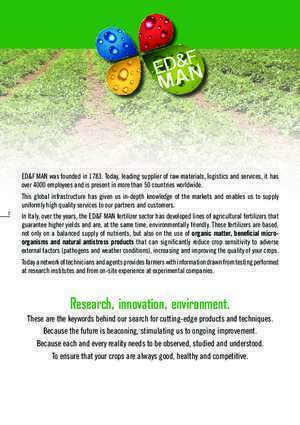 Accumulation et reservoir des pesticide : Research, innovation, environment ED&FMAN