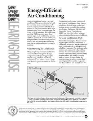 Air condition : Energy-Efficient Air Conditioning Energy Efficiency and