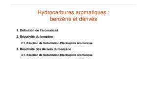Sear : Hydrocarbures Aromatiques Unf3s