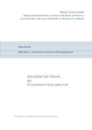 Algerie loi de finance 2005 : DOCUMENT DE TRAVAIL M Ould Brahim Ould Jiddou Fah*