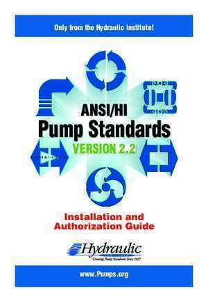 Ansi hi 9 : ANSI HI Pump Standards Hydraulic Institute