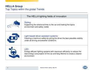 Vw touareg 2003 : Overview Business Division Lighting Homepage | HELLA