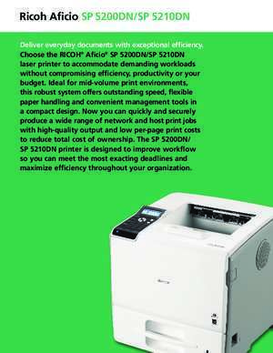 Pro com10 2 : B W Laser Printer The value of maximum productivity fast