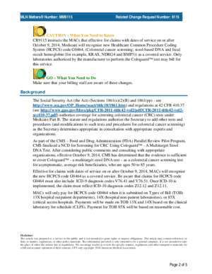 9115 : MM9115 Centers for Medicare & Medicaid Services