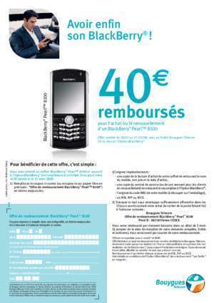 Blackberry 28 : Mise en page 1 Cdiscount com