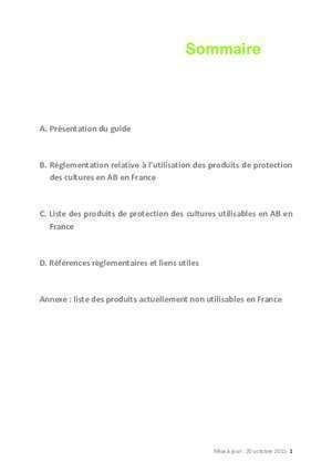 Fongicides : Guide des produits de protection des cultures utilisables en
