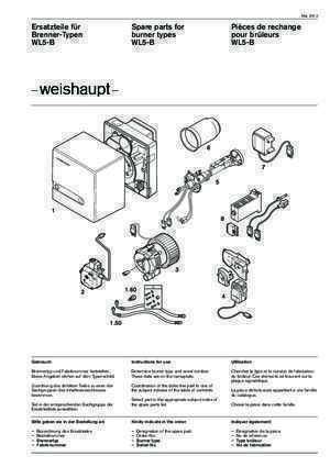 weishaupt w5 1 a notices et pdf gratuits. Black Bedroom Furniture Sets. Home Design Ideas