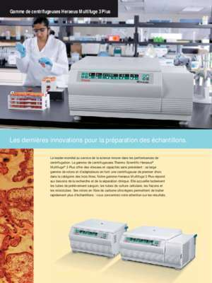 Heraeus : Polyvalence incomparable, performances exceptionnelles Gamme