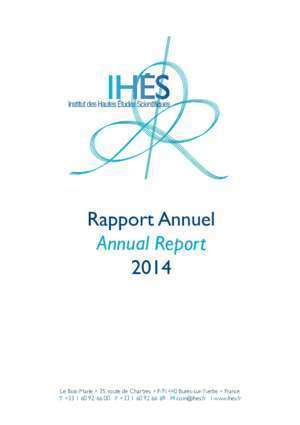 2014 - IHES