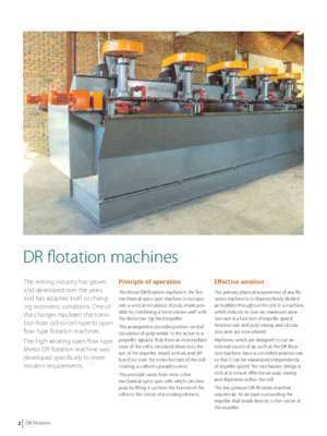 Dr chang : DR flotation machines Metso