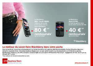 Blackberry bold 9780 : Untitled SFR Business