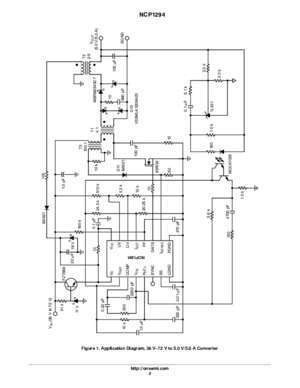 1294 case : NCP1294 Flyback, Boost, Forward PWM Controller
