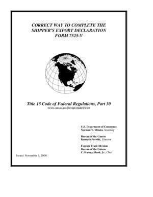 60 sed : Shippers Export Declaration (SED) Instructions R E Rogers