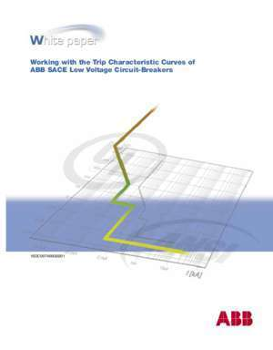 Working with the Trip Characteristic Curves of ABB