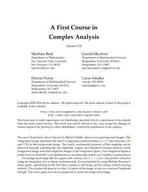 Chapter zero abstract mathematics : A First Course in Complex Analysis Mathematics
