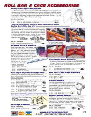 TRUCK & SUV ROLL BARS & CAGES - S&W Race Cars