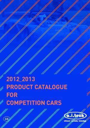 Ait cat : 2012 PRODUCT CATALOGUE FOR COMPETITION CARS