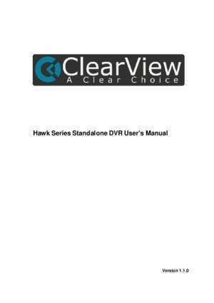 38 ndix : Hawk Series Standalone DVR User s Manual