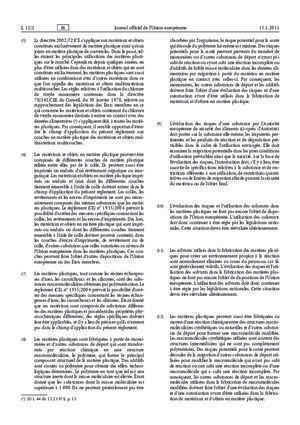 10 10 2011 : Règlement (UE) no 10 2011 de la Commission du 14