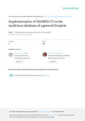 PAPER IMPLEMENTATION OF SNOMED CT - researchgate.net