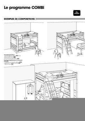 notice de montage lit mezzanine julien notices et pdf gratuits. Black Bedroom Furniture Sets. Home Design Ideas